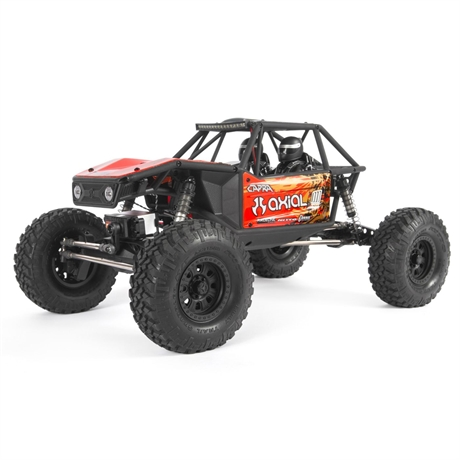 Axial Capra 1.9 Unlimited Trail Buggy 1/10 4WD RTR Red