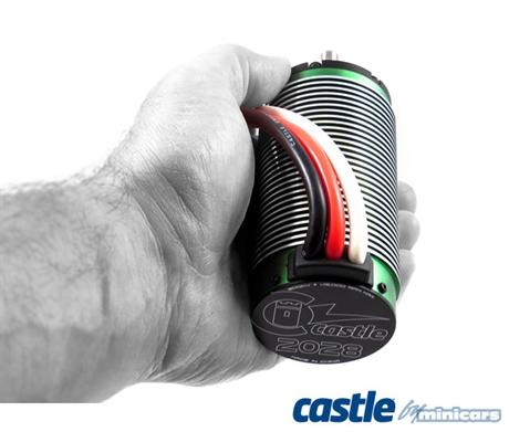 Castle Creations MAMBA-X XL ESC Combo med 2028-800KV motor