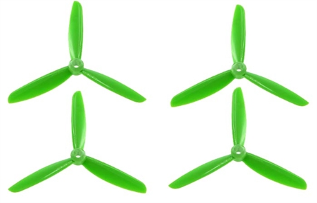 DAL 5x4.5 Triblade Green (2 pairs)