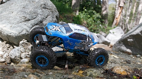 ECX Temper 1/18 4WD Rock Crawler Brushed: RTR INT
