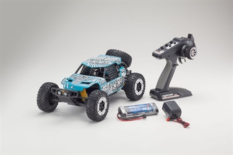 KYOSHO AXXE 1:10 EP BUGGY (KT231P) - T6 GREEN READYSET