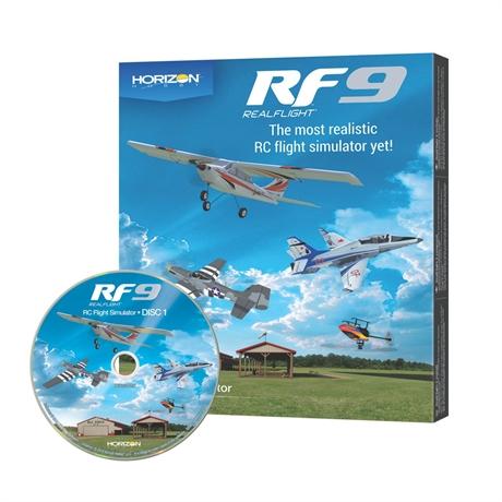 RealFlight 9 Simulator, Software Only
