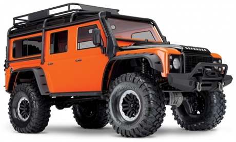 Traxxas TRX-4 Scale & Trail Crawler Land Rover Defender Orange RTR