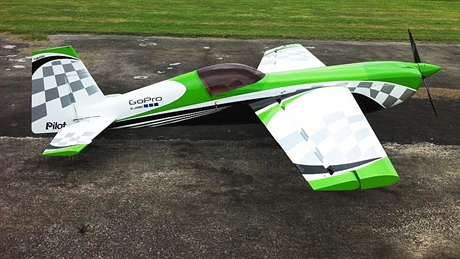 Pilot RC Extra 330SC 73 Green/White CheckerARF, IMAC, F3M, 3D, Aerobatics,  Voltige, Competition, ARF