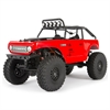 Axial 1/24 SCX24 Deadbolt 4WD Rock Crawler Brushed RTR Red
