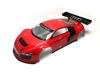 Kyosho BODY SHELL AUDI R8 LMS INFERNO GT2 (PAINTED) - RED
