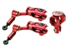BLADE MCPX BL2 Aluminum DFC Main Rotor Set Red
