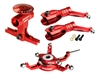 BLADE 230S V2 / 250 CFX CNC Power Package Red